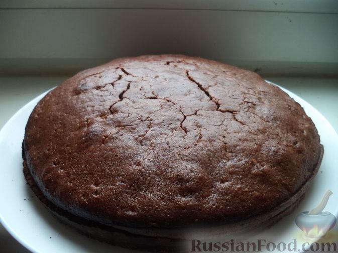 Фото приготовления рецепта: Шоколадные маффины - шаг №8