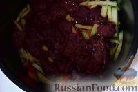 Фото приготовления рецепта: Гречка с печенью и овощами (в мультиварке) - шаг №2