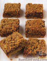 Фото к рецепту: Овсяное печенье (пирог) с финиками