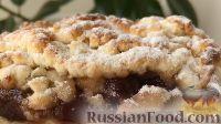 Фото к рецепту: Рассыпчатый пирог из песочного теста