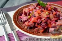 Фото к рецепту: Винегрет мясной