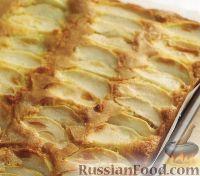 Фото к рецепту: Пирог с яблоками и карамелью