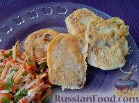 Фото к рецепту: Язык свиной, жаренный в тесте
