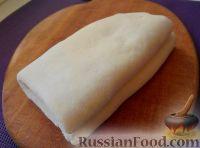 Фото к рецепту: Слоеное дрожжевое тесто