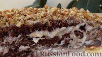Фото к рецепту: Шоколадный торт на кефире