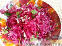 Фото к рецепту: Салат из редьки арбузной