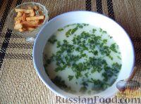 Фото к рецепту: Суп-пюре картофельный с молоком
