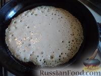 Фото приготовления рецепта: Блины на Масленицу - шаг №7