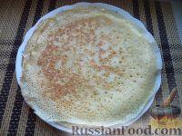 Фото приготовления рецепта: Блины на Масленицу - шаг №9