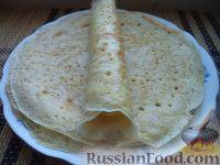 Фото приготовления рецепта: Блины на Масленицу - шаг №10