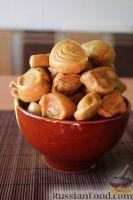 Фото к рецепту: Аппетитные галушки на пару