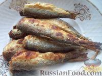 Фото к рецепту: Жареная салака