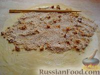 Фото приготовления рецепта: Пахлава в виде рулетиков - шаг №11