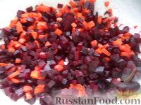 Фото приготовления рецепта: Винегрет с фасолью и сладким перцем - шаг №2