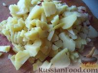 Фото приготовления рецепта: Винегрет с фасолью и сладким перцем - шаг №3
