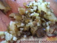 Фото приготовления рецепта: Винегрет с фасолью и сладким перцем - шаг №6