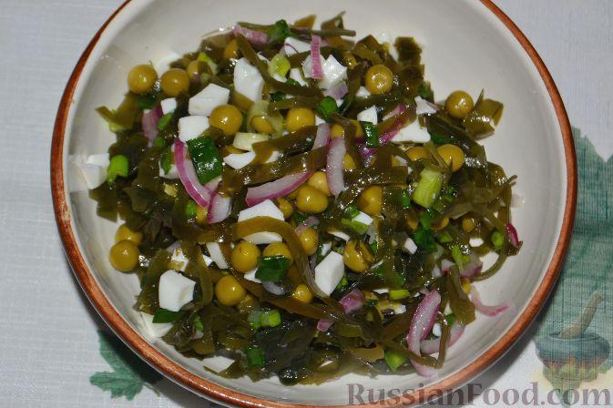 Салаты из морской капусты самые вкусные рецепты с