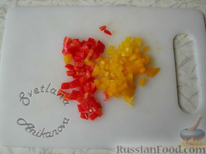 """Фото приготовления рецепта: Салат """"Пасхальный кулич"""" - шаг №11"""