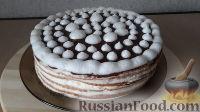 Фото к рецепту: Творожный торт с творожно-сметанным кремом