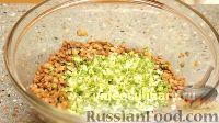 Фото приготовления рецепта: Салат из чечевицы - шаг №8