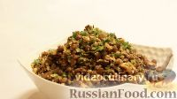 Фото приготовления рецепта: Салат из чечевицы - шаг №10