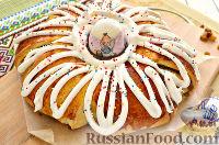 """Фото к рецепту: Пирог пасхальный """"Венок"""""""