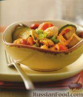 Фото к рецепту: Жареная курица с овощами и сыром