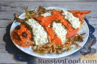 Фото к рецепту: Салат «Рыба-клоун» с морской капустой и тунцом