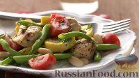 Фото к рецепту: Соте из курицы с овощами