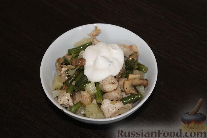Салат с курицей очень вкусный рецепт классический и