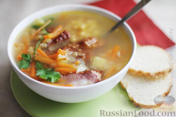 Суп с копченой курицей рецепты