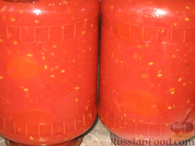 Рецепт Томаты в томатном соке