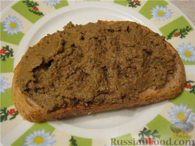 Рецепт Запеченный паштет из печени