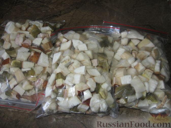 как приготовить грибы белые на зиму
