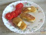 Рецепт Картофельные зразы из сырой картошки с мясом