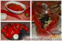 Фото к рецепту: Запеченные перцы в маринаде