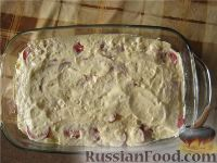 Фото приготовления рецепта: Картофельная запеканка с грибами постная - шаг №7