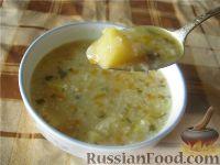 Фото к рецепту: Суп рисовый постный