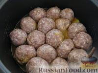 Фото приготовления рецепта: Тефтели в мультиварке - шаг №6