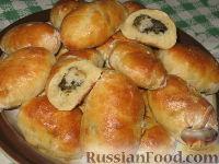 Фото к рецепту: Пирожки из картофельного дрожжевого теста
