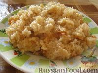 Фото к рецепту: Каша пшеничная с луковой зажаркой