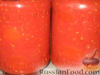 Фото к рецепту: Томаты в томатном соке
