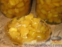 """Фото к рецепту: Кабачковое варенье """"Под ананас"""""""