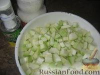 """Фото приготовления рецепта: Кабачковое варенье """"Под ананас"""" - шаг №1"""