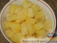 """Фото приготовления рецепта: Кабачковое варенье """"Под ананас"""" - шаг №3"""