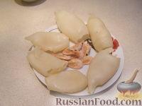 """Фото приготовления рецепта: Салат """"Нежный с кальмарами"""" - шаг №3"""