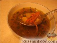 Фото приготовления рецепта: Суп с чечевицей постный - шаг №1