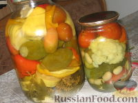 Фото к рецепту: Овощное ассорти