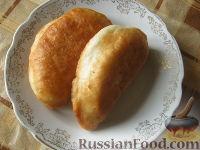 Фото к рецепту: Пирожки жареные постные