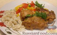 Фото к рецепту: Тушеные свиные ребрышки